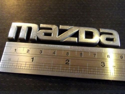 Badge, Mazda, Rear, MX-5 mk2 & mk2.5, 90mm, NC1051711, USED